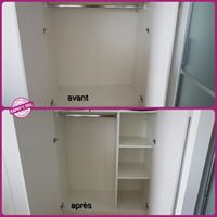 Modification armoire