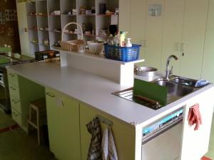 Ilot central pour plan de travil de cuisine