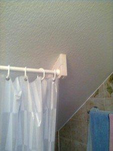 Support pour barre de douche