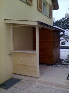 Aggrandissement cabane de jardin (2)