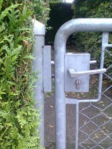 Ajustage fermeture portail