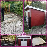 Assemblage cabane de jardin