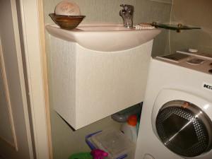 Cache siphon sous-lavabo