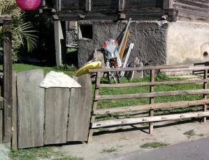 Création barrière et portail type western
