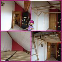 Création lit mezzanine