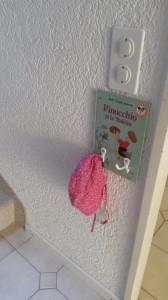 Crochets déco pour habits enfants