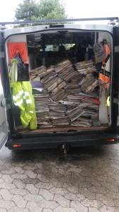 Evacuation journaux