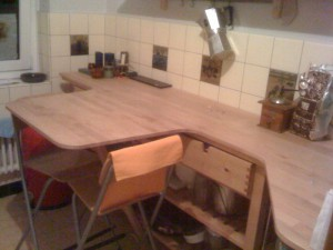 Modifications table de cuisine