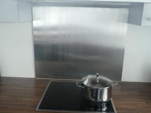Protection de cuisine en inox