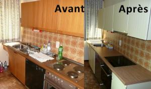 Rénovation cuisine avant-après