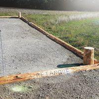 Rénovation piste de pétanque