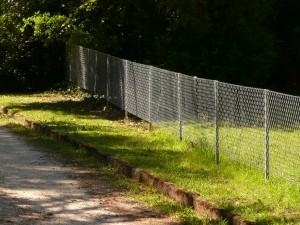Remise en état clôture de jardin